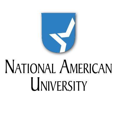 Logo of National American University