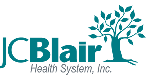 Logo of J.C. Blair Memorial Hospital
