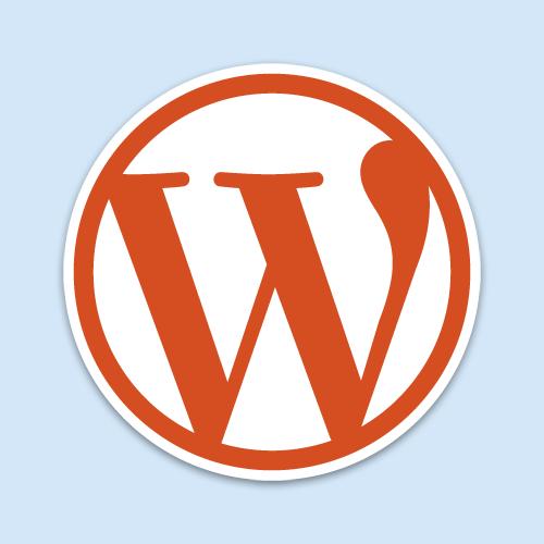 Logo of Word Press
