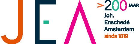Logo of Joh. Enschedé Amsterdam